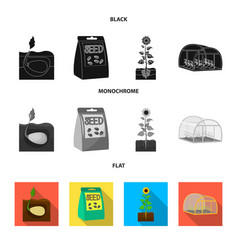 Company ecology and other web icon in black vector