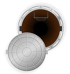 Manhole 04 vector