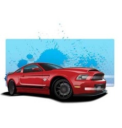 Redmustang vector