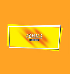 retro background with a comics style abstract vector image