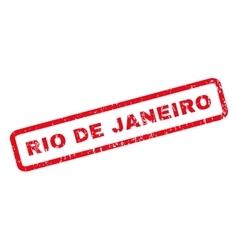 Rio De Janeiro Rubber Stamp vector image