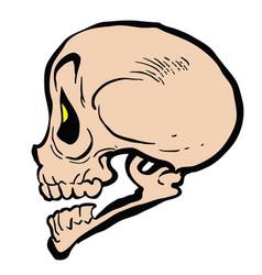 Skull4 vector