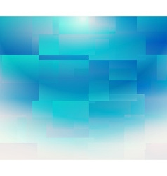 Square blue background vector image
