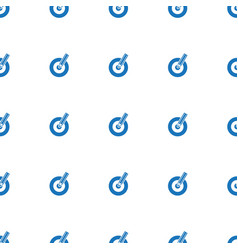 Target keywords icon pattern seamless isolated on vector