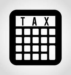 Taxes icon vector