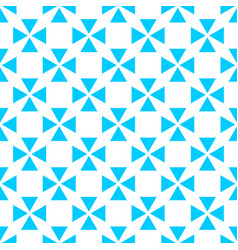 tile pastel blue and white pattern vector image