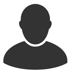 Customer flat icon vector