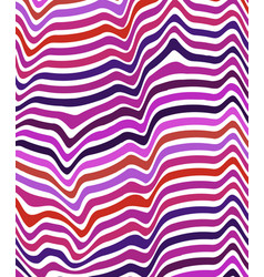 abstract color wavy background line pattern for vector image