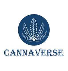 cannabis leaf stock vector image