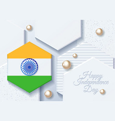 India independence day india 15th august vector