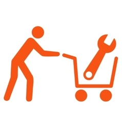 Tools Shopping Icon vector image