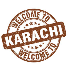 Welcome to karachi vector
