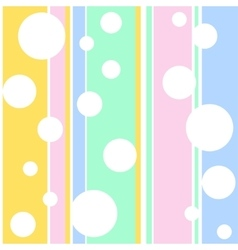 White bubbles vector image