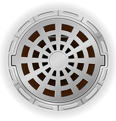 manhole 05 vector image vector image