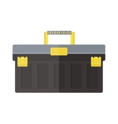 Toolbox with instruments construction work vector image