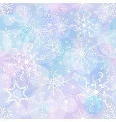 gentle christmas pattern vector image