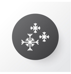snowflakes icon symbol premium quality isolated vector image vector image