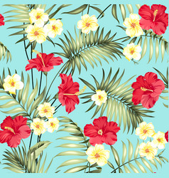 tropical design for fabric swatch vector image vector image