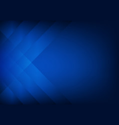 Abstract dark blue background with strips vector