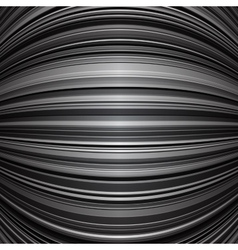 Abstract grey warped stripes background vector