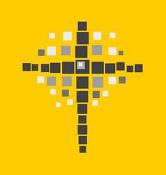 Cross of jesus vector