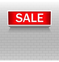 Discount warning messages Sale Warning board vector image