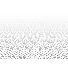 hexagons pattern vector image