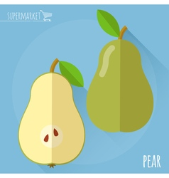 Pear icon vector image