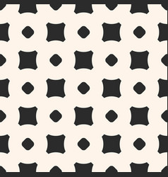 seamless pattern minimalist texture with squares vector image