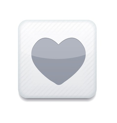 White heart icon Eps10 Easy to edit vector