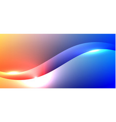 abstract background fluid gradient vibrant color vector image