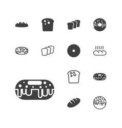 Bake icons vector