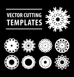 Geometric symbols for laser cutting and printing vector