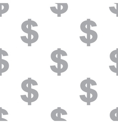 New Dollar seamless pattern vector image