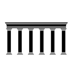 Pillars icon image vector