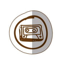 Symbol radio technology icon vector