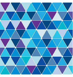 winter triangle pattern 22 vector image