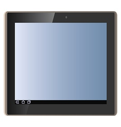 tablet pad vector image