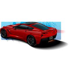 RedVette vector image vector image