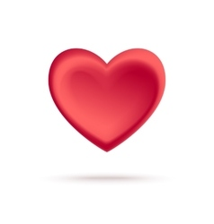 A red heart - Isolated vector
