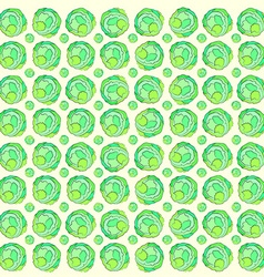 Background cabbage vector