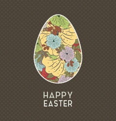 Easter Grunge Background vector