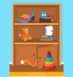 educational children game logic game for kids vector image