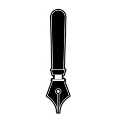 fountain pen symbol vector image
