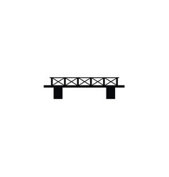 Isolated connection rope icon infrastructure vector