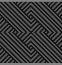 Seamless abstract geometric pattern - dark vector