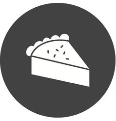 Slice of pie vector
