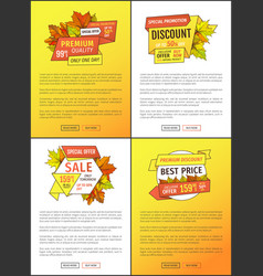 super sale special offer up to 50 percent posters vector image