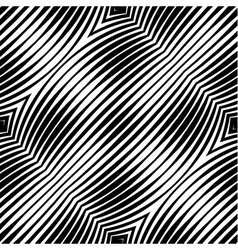 Abstract Striped Geometric Seamless Pattern vector image vector image