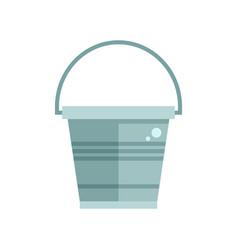 garden bucket icon vector image vector image
